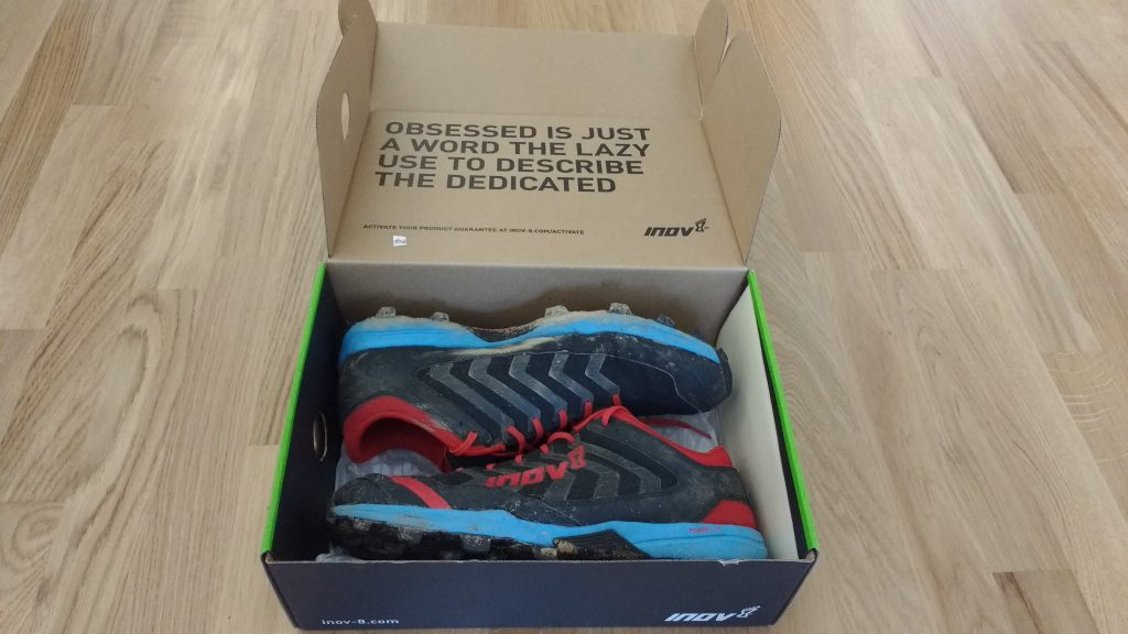 Unboxing Inov-8 X-Claw 275