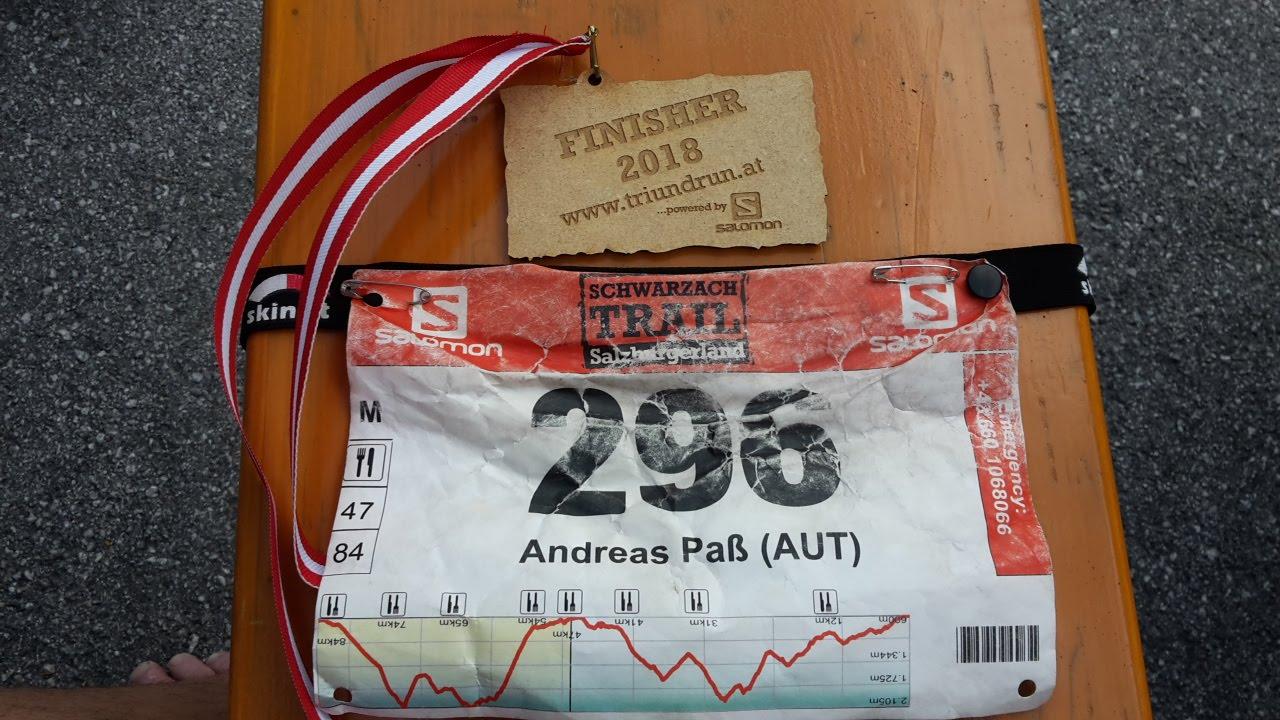 Medaille Schwarzach Trail
