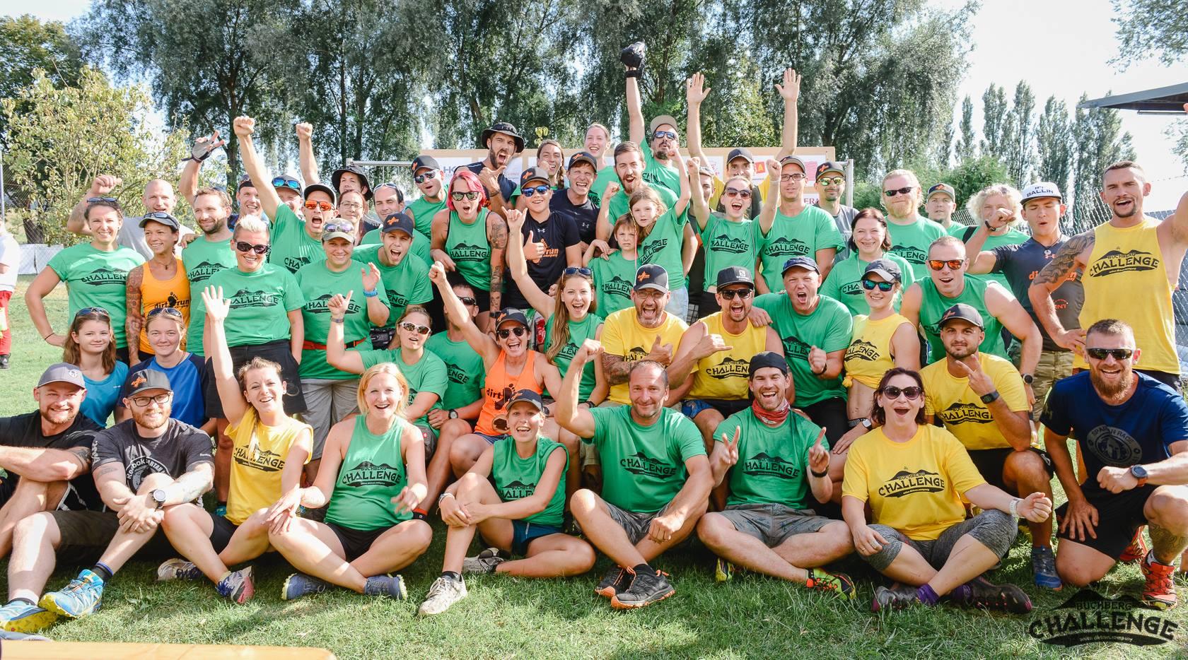 Team und Helfer Buchberg Challenge